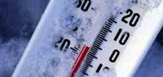 termometro sotto zero
